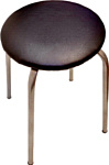 Фабрика стульев Эконом (черный/серебристый)