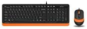 A4Tech F1010 Black-Orange USB