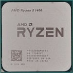 AMD Ryzen 5 1400 Summit Ridge (AM4, L3 8192Kb)