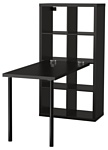 Ikea Каллакс (черный/коричневый) (291.230.72)