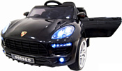 RiverToys Porsche Macan O005OO VIP (черный)