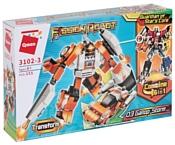 Qman Fission Robot 3102-3 Робот-трансформер Шторм