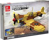 Jie Star Military 23044 Самолет Spitfire