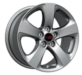 LegeArtis TY171 7x17/5x114.3 D60.1 ET39 Silver