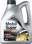 Mobil 10W-40 Super 2000 X1 4л