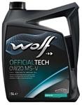 Wolf OfficialTech 0W-20 MS-V 5л