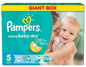 Pampers Active Baby-Dry 5 Junior (78 шт.)