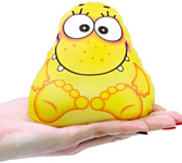 Союз производителей игрушек Игрушка-мочалка растущая в воде Капитошка (желтый)