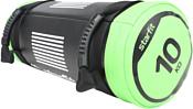 Starfit WT-601 10 кг (черный/зеленый)