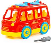 Полесье 71248 Автобус (красный)