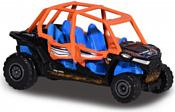 Majorette Explorer 212057601 Polaris RZR (синий/оранжевый)
