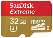 Sandisk Extreme microSDHC Class 10 UHS Class 3 90MB/s 32GB