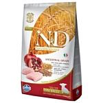 Farmina (7 кг) N&D Low-Grain Canine Chicken & Pomegranate Puppy Mini