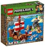 LEGO Minecraft 21152 Приключения на пиратском корабле