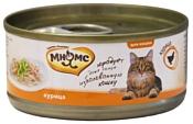 Мнямс (0.07 кг) 1 шт. Консервы для кошек Курица в нежном желе