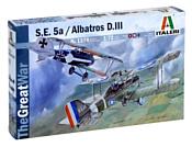 Italeri 1374 Истребитель S.E.5a и Albatros D.III