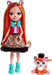 Enchantimals Tanzie Tiger Doll and Tuft Figure FRH39