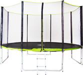 Fitness Trampoline 10ft professional (зеленый)