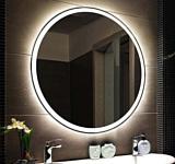 Пекам Зеркало с подсветкой Ring 1 70x70 (с подогревом и сенсором)