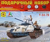 Моделист Советский танк Т-34-76 1/72 ПН307201