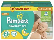 Pampers New Baby-Dry 2 Mini (144 шт.)