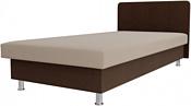 Лига диванов Мальта 200x80 101747 (бежевый/коричневый)