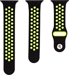 Evolution AW44-SP01 для Apple Watch 42/44 мм (black/fluorescent green)