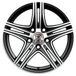 NZ Wheels F-6 6.5x15/4x100 D60.1 ET50 BKF