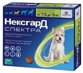Фронтлайн (Merial) НексгарД Спектра собаки 7.5-15 кг