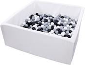 Misioo 130x130x50 700 шаров (белый)
