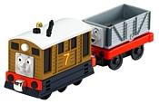 """Thomas & Friends Набор """"Вагончик и паровозик Тоби"""" серия Take-n-Play Y1418"""