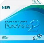Bausch & Lomb Pure Vision 2 HD (от -1,0 до -5,0) 8.6mm