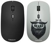 Canyon CND-CMSW401BD Мистер Хипстер White USB