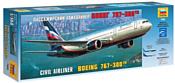 Звезда Пассажирский авиалайнер Боинг 767-300