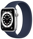 Apple Watch Series 6 GPS 44mm Aluminum Case with Solo Loop