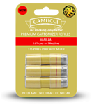 Gamucci MICRO CARTOMIZERS VANILLA 1.6% REGULAR