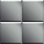 Dubiel Vitrum Fliza SF 20x20 зеркало (5905241040509)