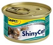 GimCat ShinyCat с курочкой и креветками (0.07 кг) 24 шт.