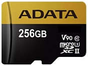 ADATA Premier ONE microSDXC UHS-II U3 Class 10 256GB + SD adapter