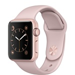 Apple Watch Series 2 38mm Rose Gold with Pink Sand Sport Band (MNNY2)