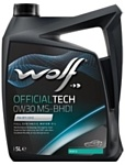 Wolf OfficialTech 0W-30 MS-BHDI 5л