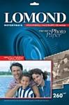 Lomond Полуглянцевая A4 260 г/кв.м. 20 листов (1103301)