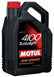 Motul 4100 Turbolight 10W40 5л