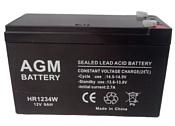 AGM Battery HR 1234W F2