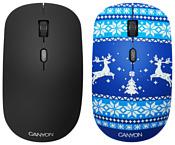 Canyon CND-CMSW401JB Новогоднее настроение Blue USB