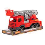 Полесье Престиж автомобиль пожарный в лотке 79701