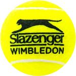 Slazenger Wimbledon Tennis Balls (4 шт)