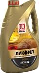 Лукойл Люкс cинтетическое API SN/CF 5W-40 4л