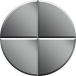 Dubiel Vitrum Fliza СSF 20x20 зеркало (5905241040905)