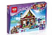 Lepin Friends 01040 Горнолыжный курорт: Шале аналог Lego 41323